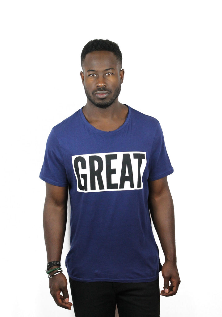 Deconstructed Great Tee Shirt