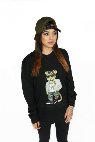 Luxpiration Luxy Leopard Sweater