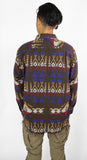 Southwestern Overshirt - Brown