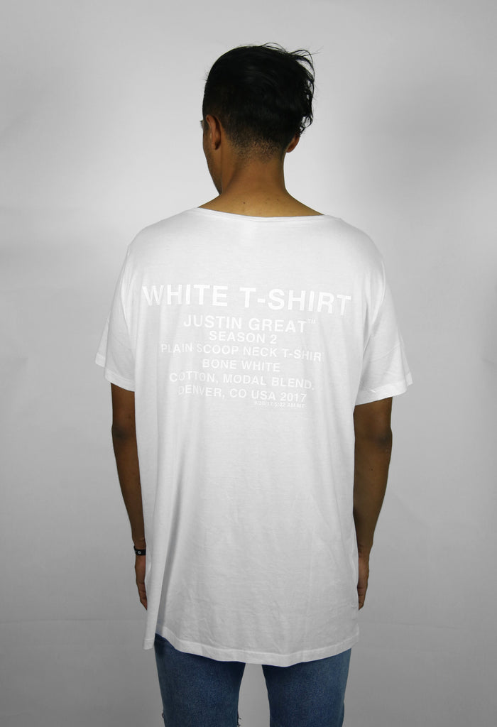 Plain White T-Shirt