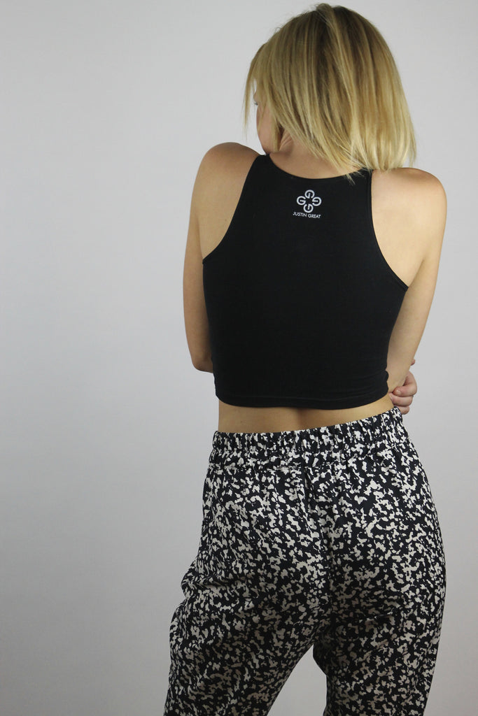 Justin Great Logo Sleeveless Crop
