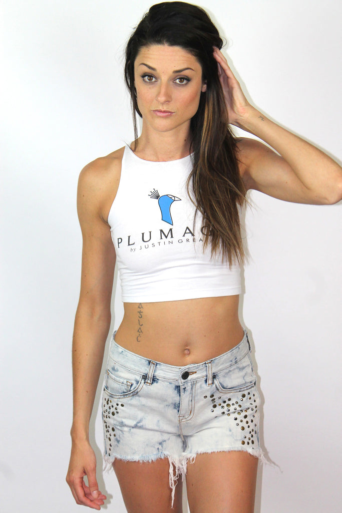 Plumage Sleeveless Crop