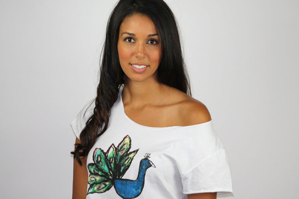 Peacock Shoulder Crop