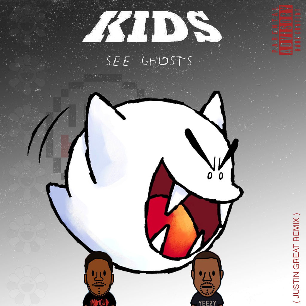 Kanye West, Kid Cudi - Kids See Ghosts (JUSTIN GREAT REMIX) - Stream (Link in details)