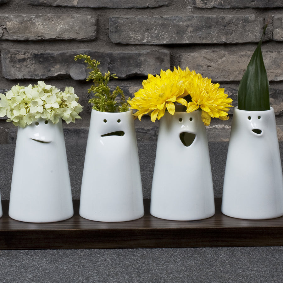 12 Faces Vase Set