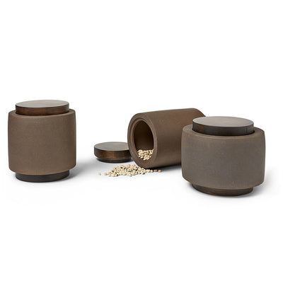 Zisha & Wood Jars