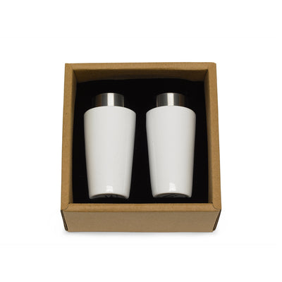 Bone China Salt and Pepper Shakers