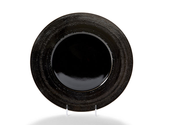 Black Glaze Charger