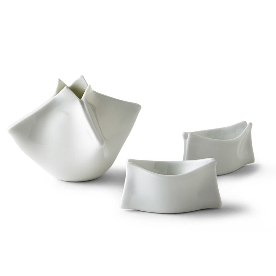 Paper Ball Sake Set