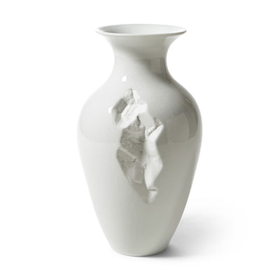 Crackled Glaze Imperfect Vase