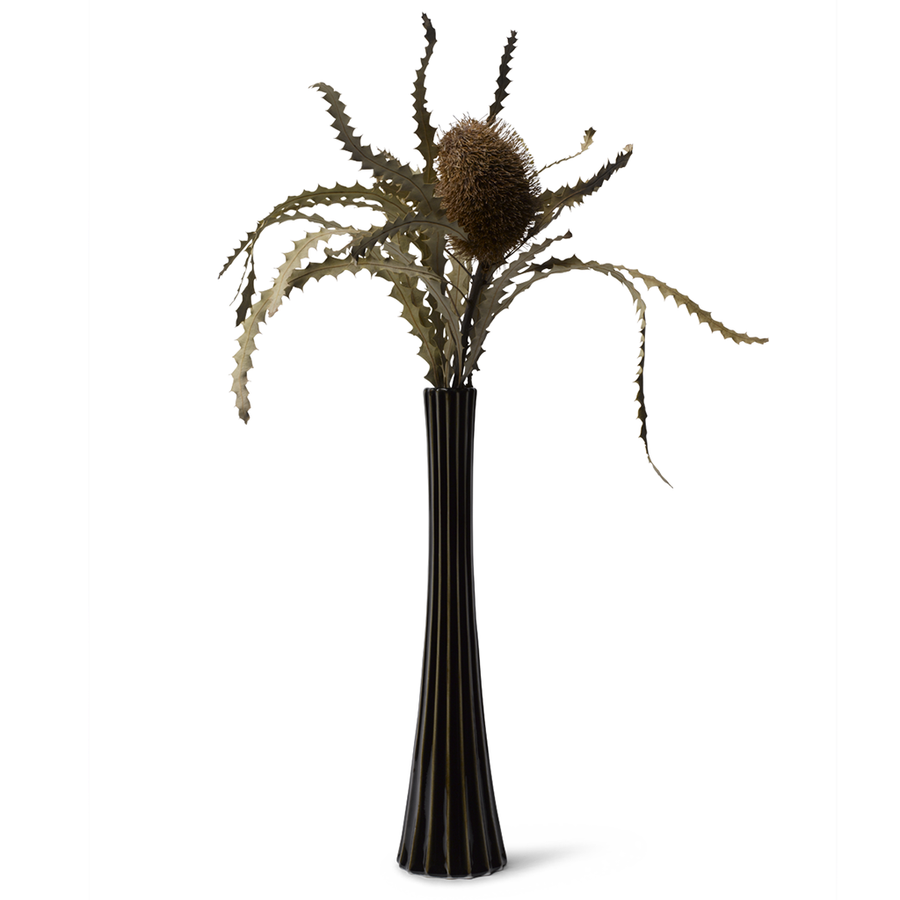 Skirt Vase - Black Glaze 2nd Edition
