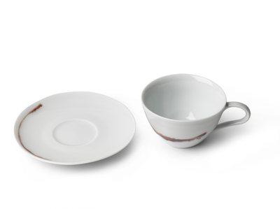 Splash Cup & Saucer - Short
