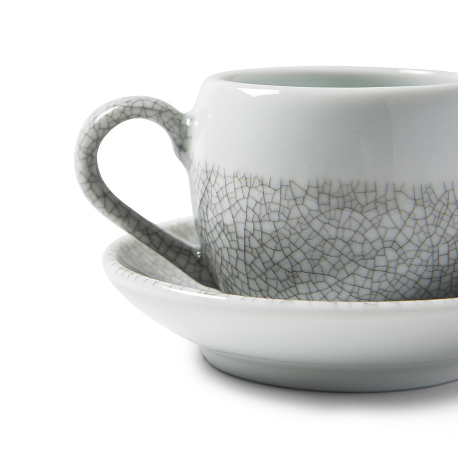 Crackled Glaze Espresso Cup