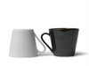 Black & White Opposite Cups