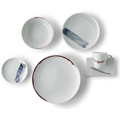 Red & Blue Place Setting