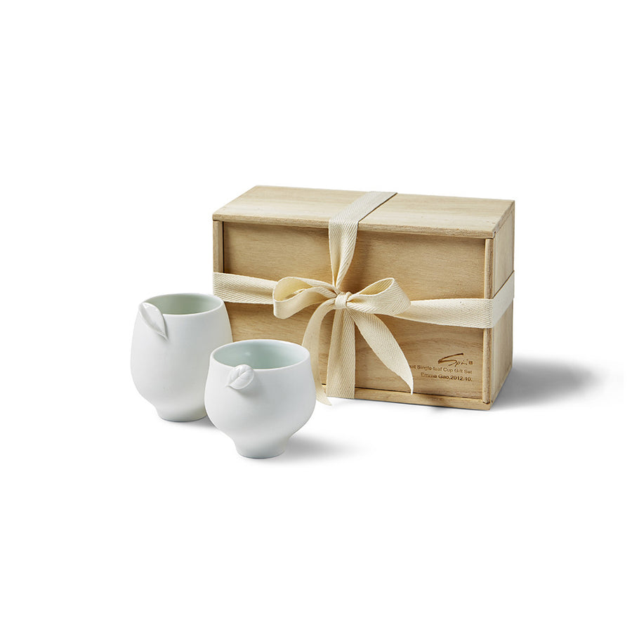 Tea Leaf Cup Set