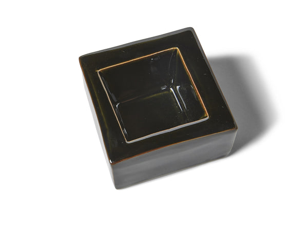 Black Glaze Ashtray