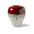 Imperial Red Donut Shaped Vases
