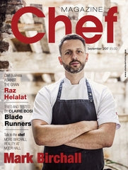 September edition of Chef Magazine Annual print subscription