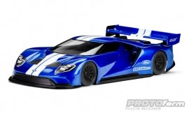 Ford GT Clear Body 200MM PAN CARS