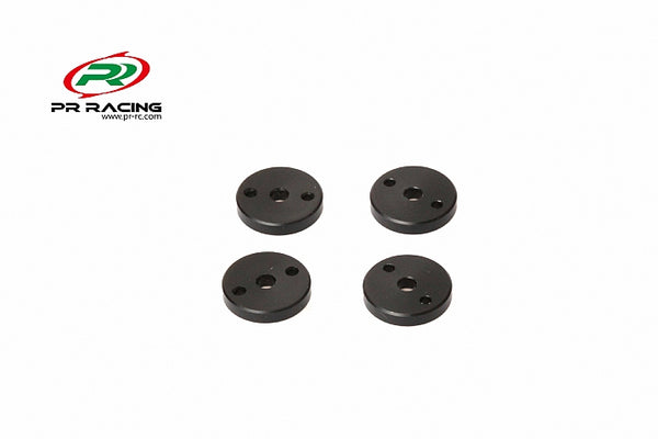 Machined Shock Pistons -2.0mm x2 Hole (4pcs)