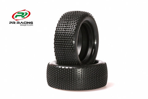 1603-10th 4WD Buggy Front  Racing Tyres Soft(2pcs)