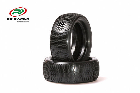 1604-1/10 4WD Buggy Front  Racing Tyres  Soft (2pcs)