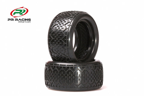 1605-1/10 2WD&4WD Buggy Rear  Racing Tyres  Soft (2pcs)