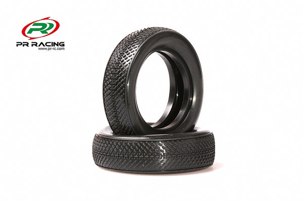 1601-1/10 2WD Buggy Front Racing Tyres Soft (2pcs)