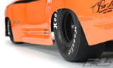 "HOOSIER DRAG SLICK SC 2.2""/3.0"" MC (CLAY) DRAG RACING TIRES (2) FOR SC TRUCKS REAR - PR10157-17"