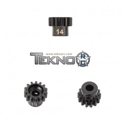 M5 PINION GEAR (14T, MOD1, 5MM BORE, M5 SET SCREW)