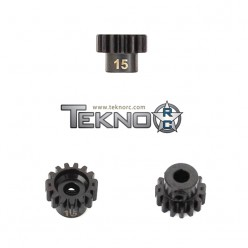 M5 PINION GEAR (15T, MOD1, 5MM BORE, M5 SET SCREW)