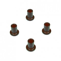 ARM BUSHING (SCT410/.3/SL, ALUMINUM, HARD ANODIZED, 4PCS)