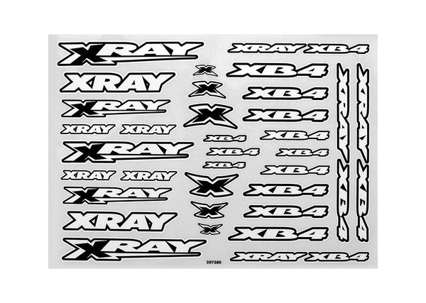 Xray Xb4 Sticker For Body