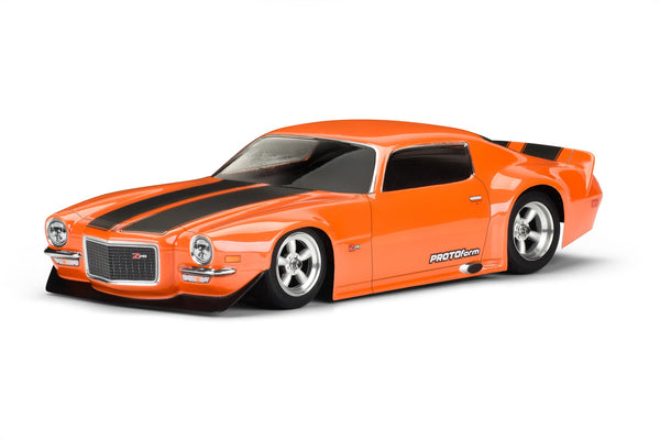 1971 CHEVROLET CAMARO Z28 190MM CLEAR VTA BODY