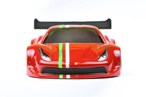 Phat Bodies GTF Lightweight GT12 bodyshell for Schumacher Atom Zen or Mardave