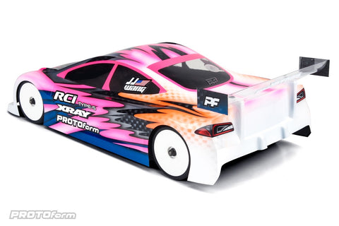 TYPE-S 190MM LIGHT WEIGHT CLEAR TOURING CAR BODY