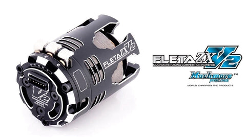 Much More Fleta ZX V2 21.5T Brushless Motor