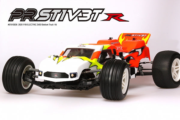 PRST1V3T-R 2020 110 ELECTRIC 2WD Stadium Truck Kit (Gear Diff Version)
