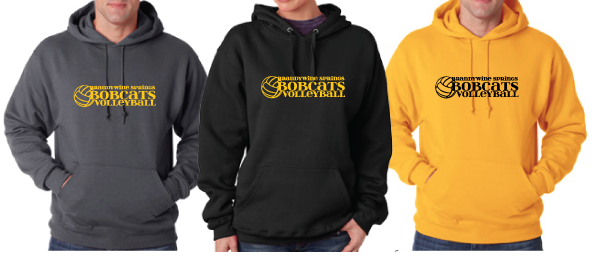 Bobcats Volleyball ADULT Sweatshirt