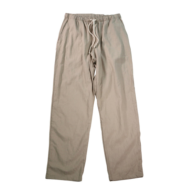 Active Lazy Pants, Putty Cotton Linen