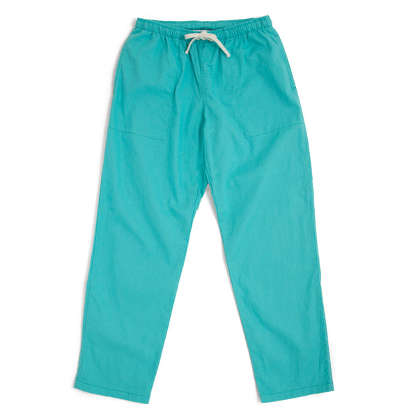Active Lazy Pants, Medium Aqua