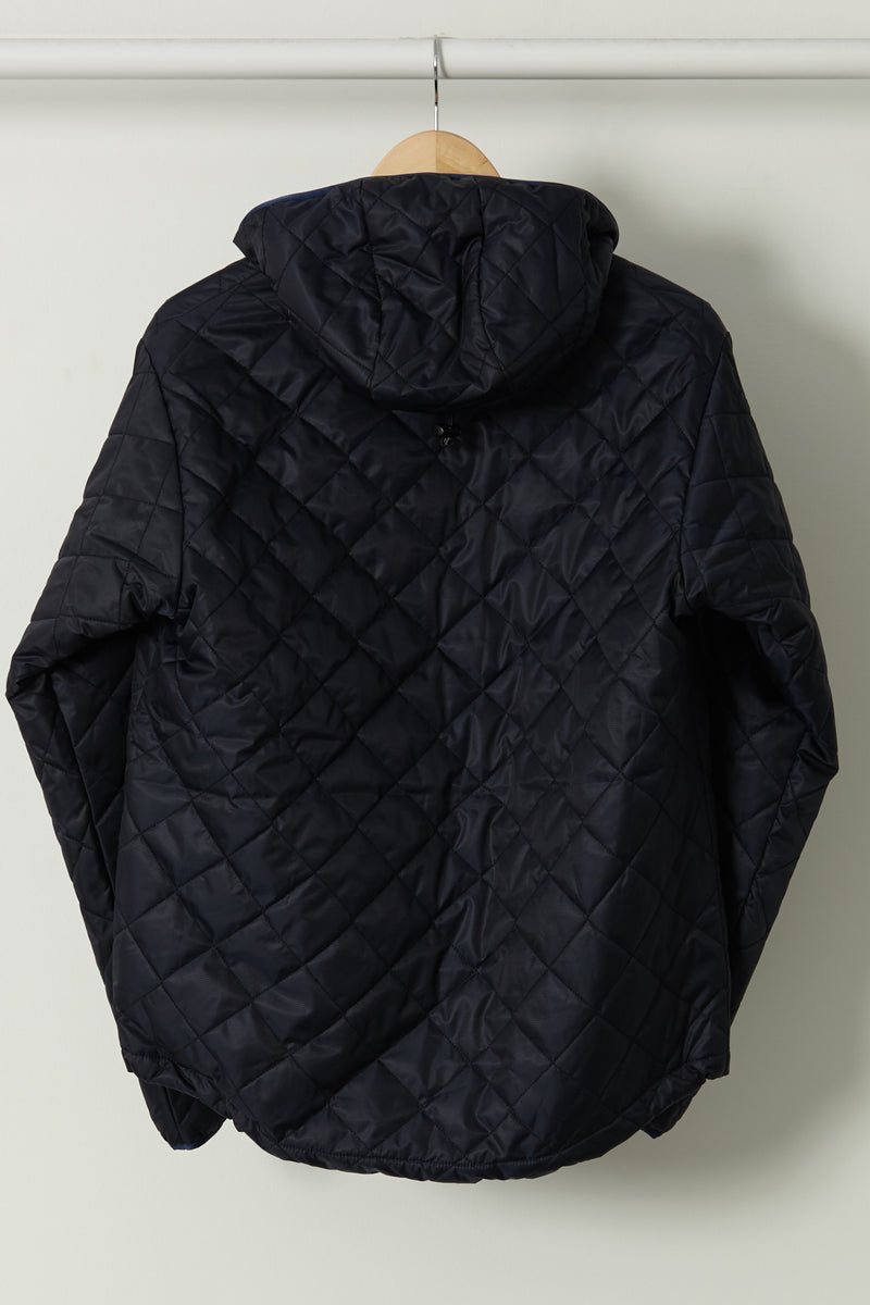 SAMPLE OF Quilted Guide Parka, Navy