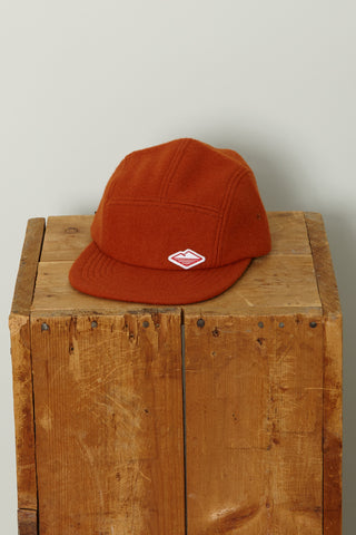 Travel Cap, Burnt Orange