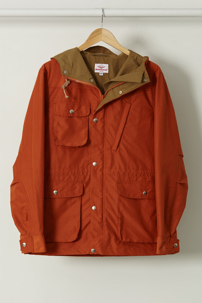 Travel Shell Parka, Burnt Orange