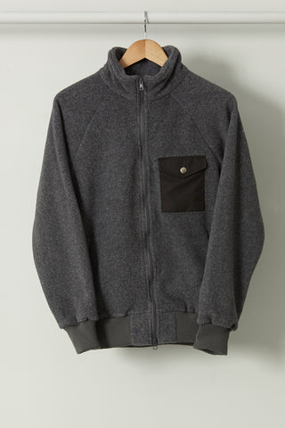 Warm-Up Fleece, Heather Grey