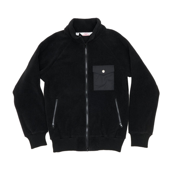 Warm-Up Fleece , Black