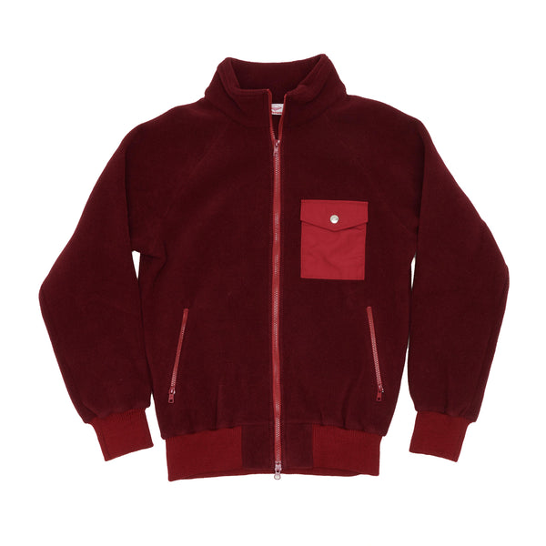 Warm-Up Fleece , Bordeaux