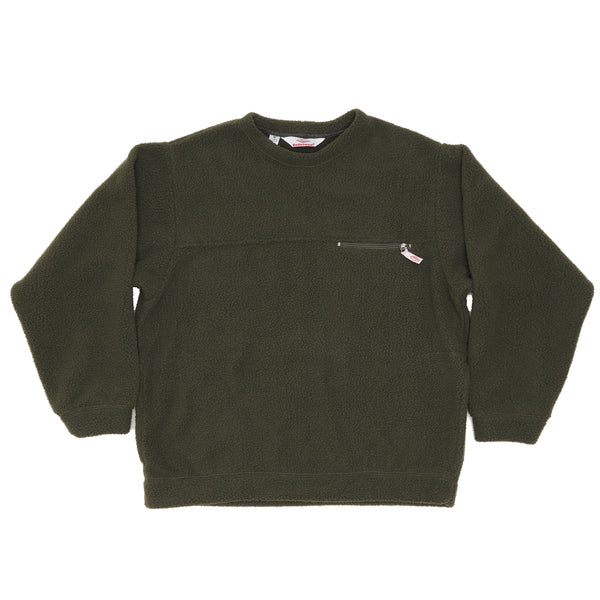 Lodge Crewneck, Olive
