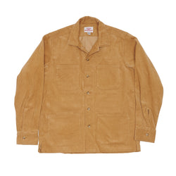 Five Pocket Canyon Shirt, Toast 14-Wale Corduroy